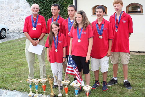 2012 US Junior Free Flight Team