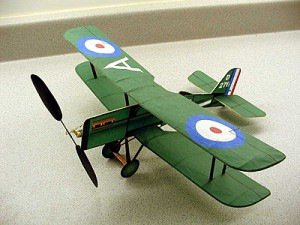 British WWI SE-5a Indoor Model
