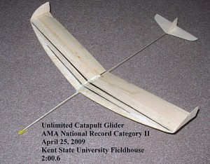 Unlimited Indoor Catapult Glider