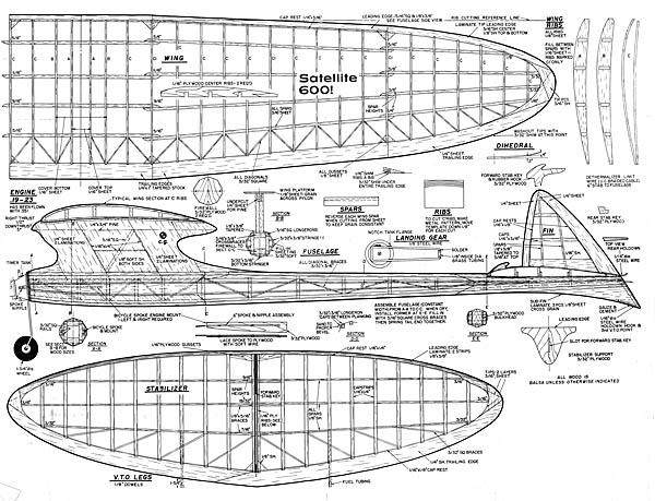 Satellite 600 (Original 1957 MAN)
